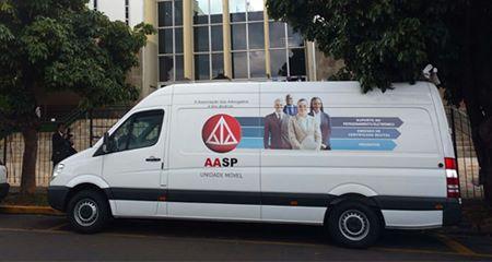 Unidade Móvel da Associação dos Advogados chega a Avaré
