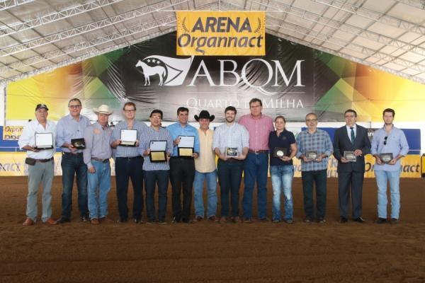ABQM homenageia personalidades durante o Campeonato Nacional