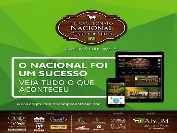 Sucesso o nacional da ABQM em Londrina