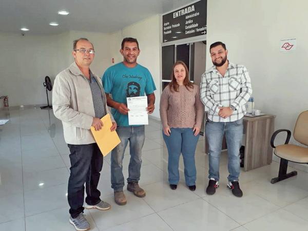 Vereadores de Águas de Santa Bárbara oficiam a Expresso de Prata