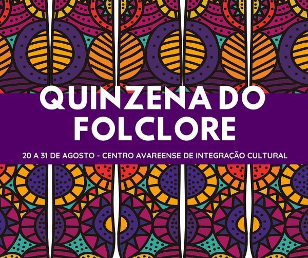 Biblioteca divulga as atrações da Quinzena do Folclore