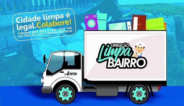 """Prefeitura promove operação """"Limpa Bairro"""""""