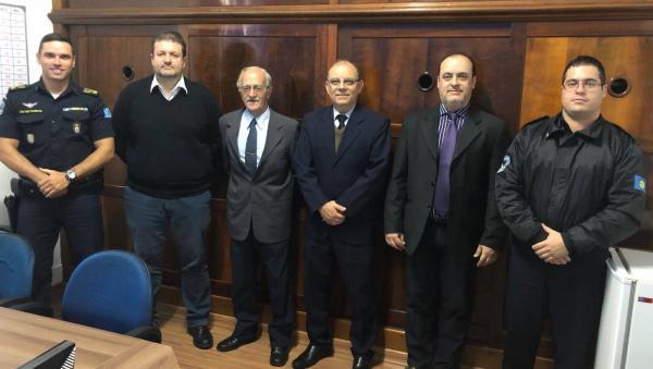 Representantes da OAB visitam a Guarda Civil Municipal de Botucatu
