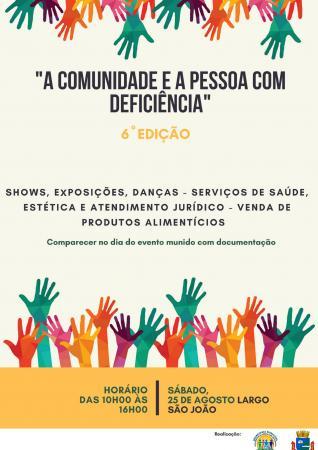 """Prefeitura promove projeto """"A Comunidade e a Pessoa com Deficiência"""""""