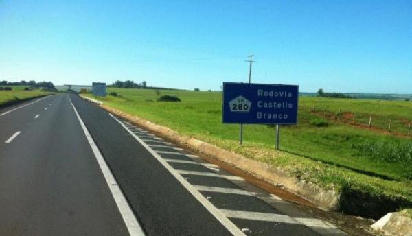 Obras na Rodovia Castello Branco – Acesso a Ourinhos pelo km 315 da SP 280 é desviado