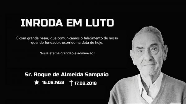 Morre fundador do Grupo InRoda, Roque Sampaio