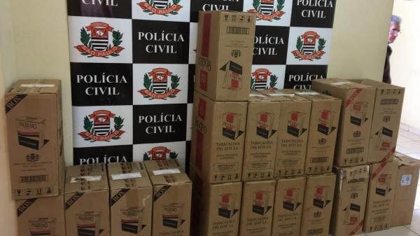 DIG de Avaré apreende carga de cigarros do Paraguai
