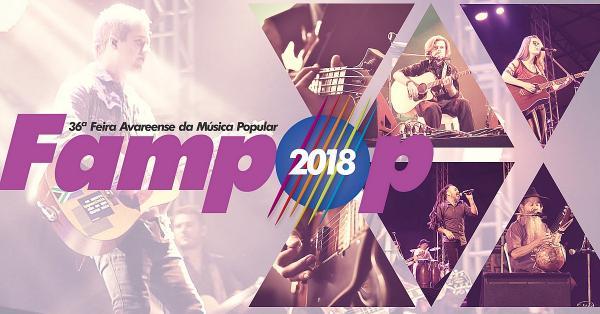 Inscrições para a 36ª Fampop encerram-se no dia 31