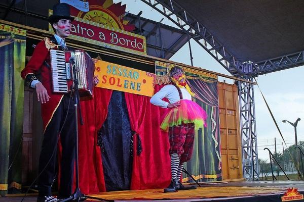 """Município de Itatinga é o próximo destino do """"Teatro a Bordo"""""""