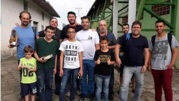 Enxadristas participam da 67ª etapa do Circuito Solidário de Xadrez