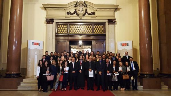 Direito Eduvale participa de júri simulado no Tribunal de Justiça de SP