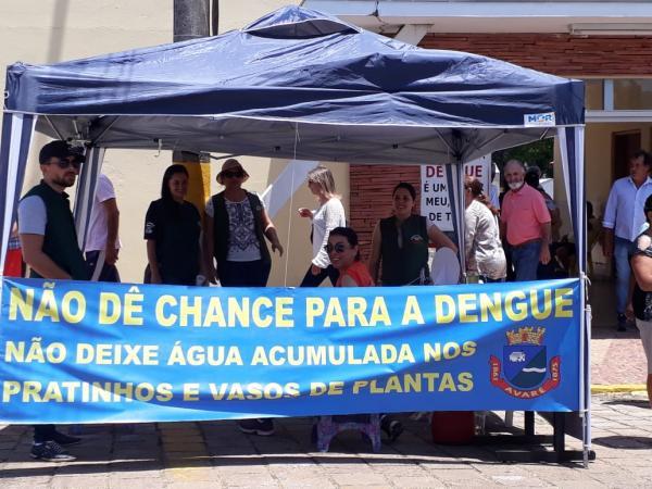 VISA faz campanha preventiva no Cemitério Municipal