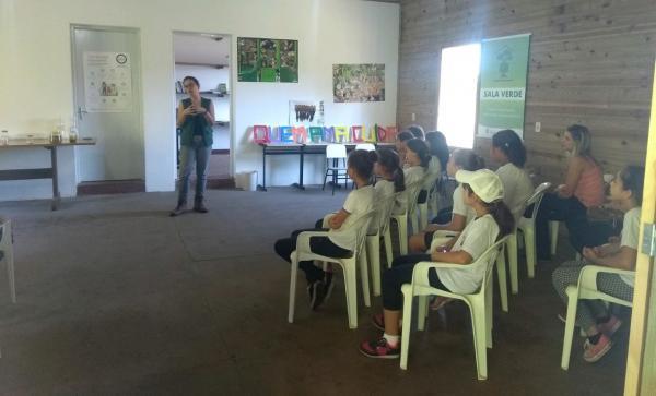 Sala Verde Sabiá recebe alunos de Iaras e Arandu
