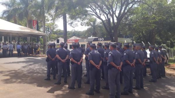 Polícia Militar inaugura nova sede de grupamento de patrulha em Campos de Holambra