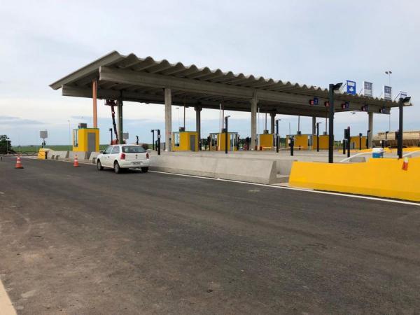 Praças de pedágio instaladas na região deverão iniciar a operação nos primeiros meses de 2019
