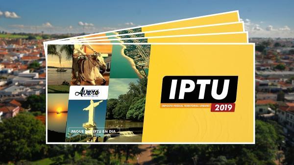 IPTU 2019 sofre reajuste de 4,55% em Avaré