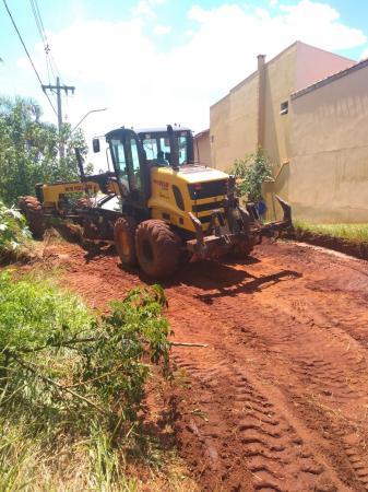 Ponta dos Cambarás: Ruas castigadas pelas chuvas são recuperadas
