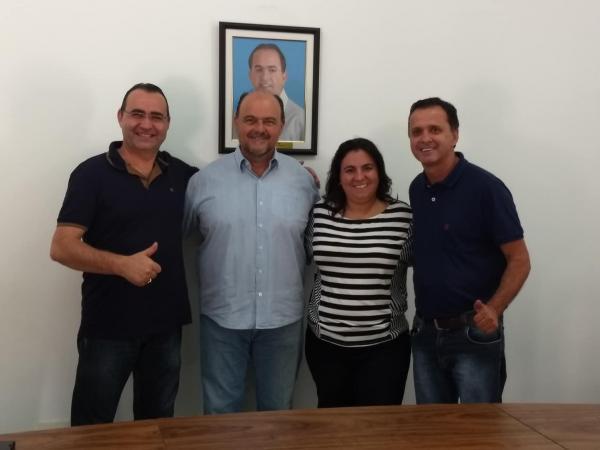Deputado Ricardo Madalena visita Sincomerciários Avaré