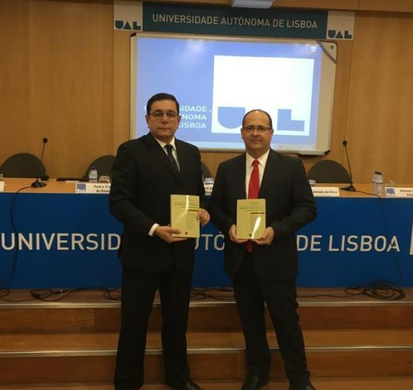 Professores do Direito Eduvale lançam antologia jurídica em Lisboa