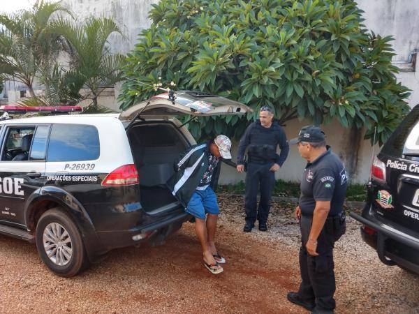 Polícia Civil prende trio por receptação, tráfico e associação para o tráfico de drogas