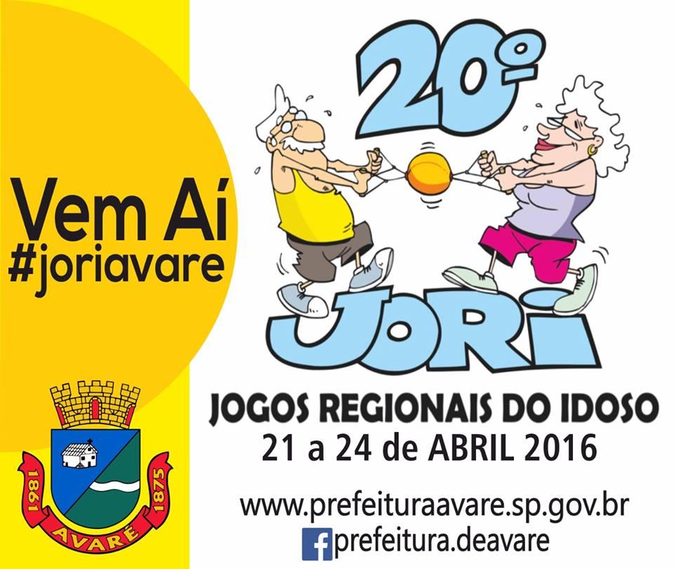 Avaré recebe idosos para o  20º JORI